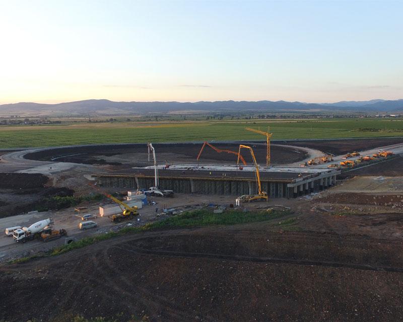 Бетон за инфраструктурно строителство