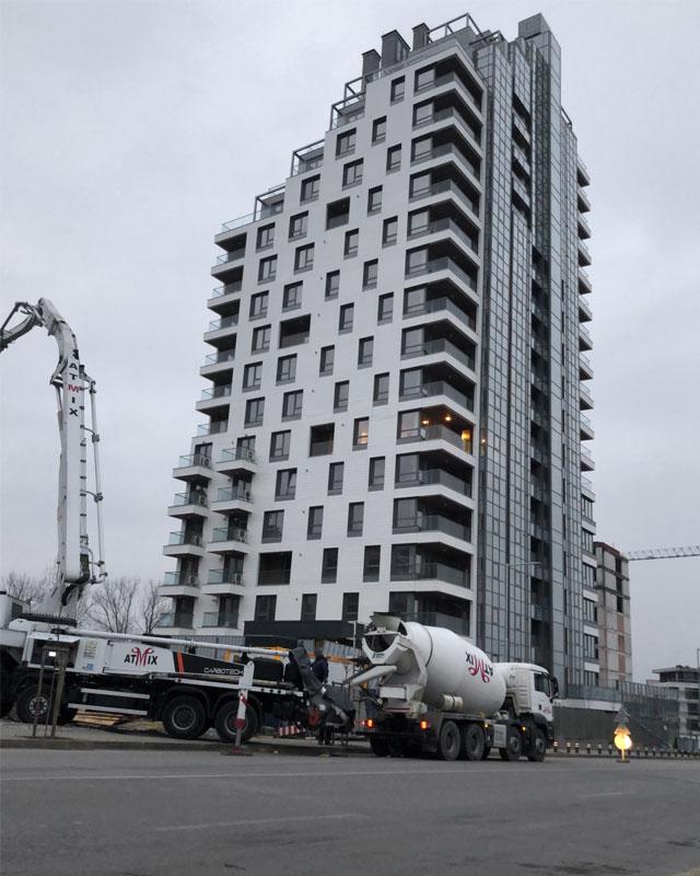 Бетон за жилищно строителство